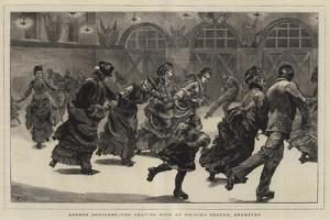 London Sketches, the Skating Rink at Prince's Ground, Brompton by Edward John Gregory
