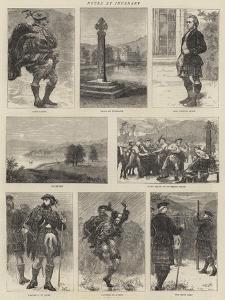 Notes at Inverary by Edward John Gregory