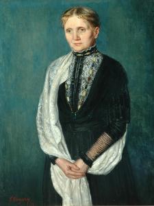 Old Lady, 1911 by Edward John Gregory