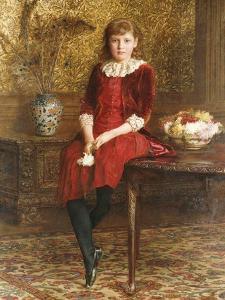 Portrait of Mabel by Edward John Gregory