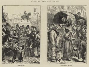 Sketches from Paris, by Balloon Post by Edward John Gregory