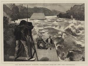 The Rapids Below Niagara Falls, the Sublime and the Ridiculous by Edward John Gregory