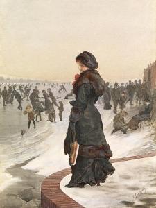 The Skater by Edward John Gregory