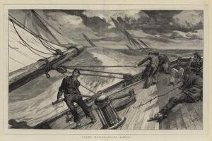 Yacht Racing, Going Ahead by Edward John Gregory