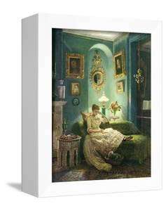An Evening at Home, 1888 by Edward John Poynter