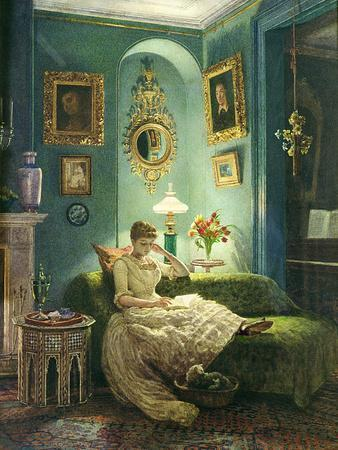 An Evening at Home, 1888