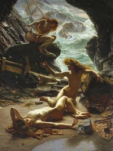 Cave of the Storm Nymphs, 1903 by Edward John Poynter