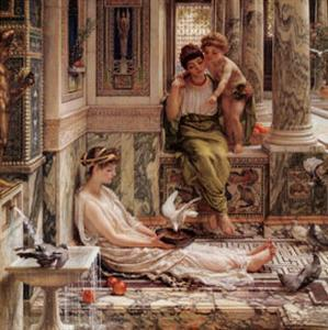 Corner of the Villa by Edward John Poynter