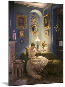 Evening at Home by Edward John Poynter