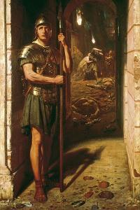 Faithful Unto Death, 1865 by Edward John Poynter
