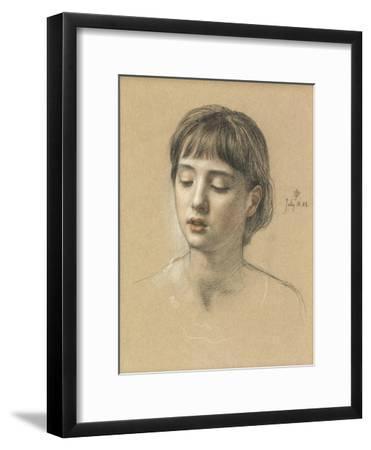 Head of a Girl, 1883