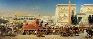 Israel in Egypt, 1867 by Edward John Poynter
