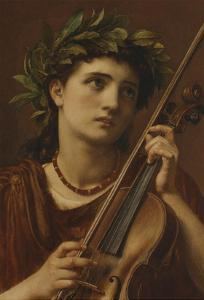 Music, Heavenly Maid by Edward John Poynter