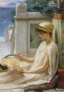 On the Terrace, 1889 by Edward John Poynter