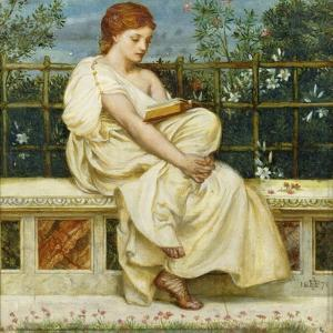 Reading by Edward John Poynter