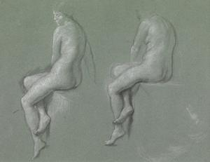 Studies of the Nude by Edward John Poynter