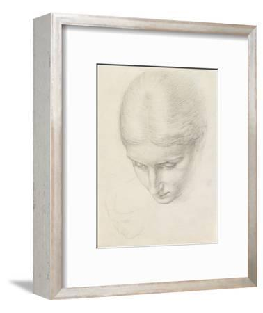 Study of a Woman. C.1868-71 (Pencil on Paper)