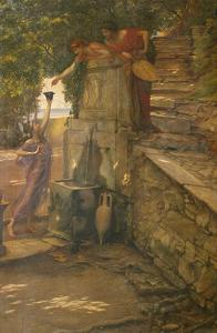 The Cup of Tantalus by Edward John Poynter