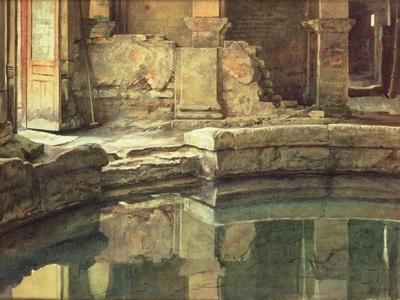 The Roman Circular Bath at Bath