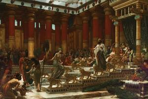 The Visit of the Queen of Sheba to King Solomon, 1890 by Edward John Poynter