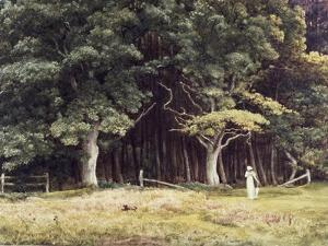 The Wooded Landscape, c.1900 by Edward John Poynter