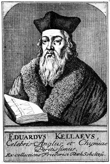 Edward Kelley, Astrologer and Alchemist, C1700--Giclee Print