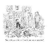 The New Yorker Cover - August 10, 1992-Edward Koren-Premium Giclee Print