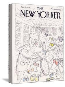 The New Yorker Cover - July 15, 1974 by Edward Koren