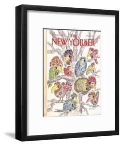 The New Yorker Cover - June 20, 1988 by Edward Koren