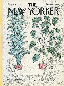 The New Yorker Cover - May 5, 1975 by Edward Koren