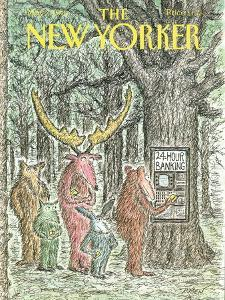 The New Yorker Cover - May 7, 1990 by Edward Koren