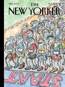 The New Yorker Cover - October 22, 2012 by Edward Koren
