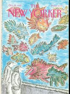 The New Yorker Cover - October 24, 1988 by Edward Koren