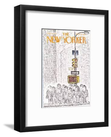 The New Yorker Cover - September 16, 1974