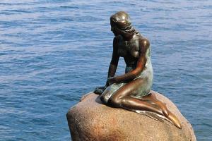The Little Mermaid, Copenhagen, Denmark by Edward Ladell