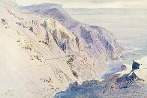 Eza (Eze), 1864 by Edward Lear