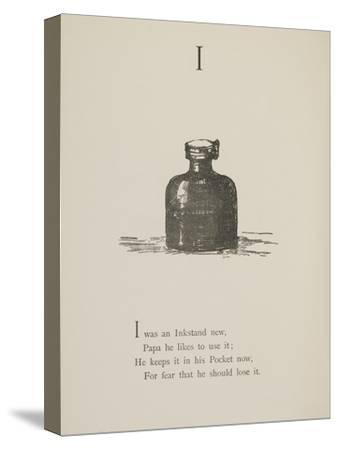 Inkstand Illustrations and Verses From Nonsense Alphabets Drawn and Written by Edward Lear.