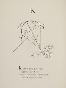 Kite Illustrations and Verses From Nonsense Alphabets Drawn and Written by Edward Lear. by Edward Lear