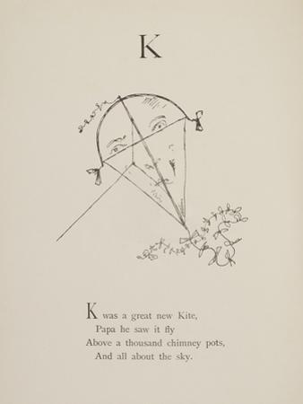Kite Illustrations and Verses From Nonsense Alphabets Drawn and Written by Edward Lear.
