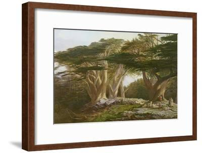 The Cedars of Lebanon, 1861