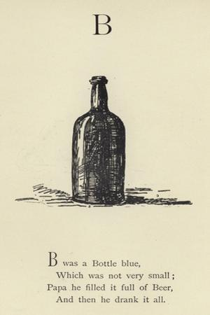 The Letter B by Edward Lear