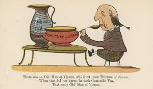 There Was an Old Man of Vienna, Who Lived Upon Tincture of Senna by Edward Lear