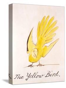 Yellow Bird by Edward Lear