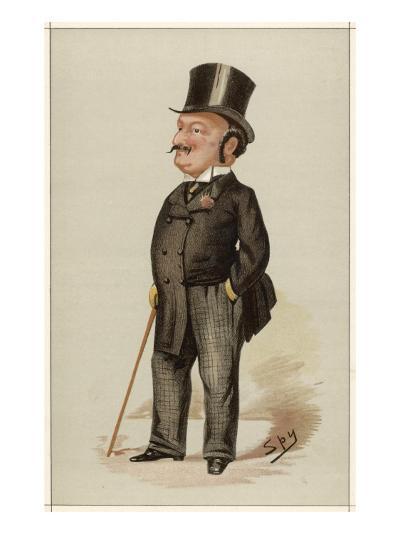 Edward Levy-Lawson 1st Baron Burnham Editor of the Daily Telegraph--Giclee Print