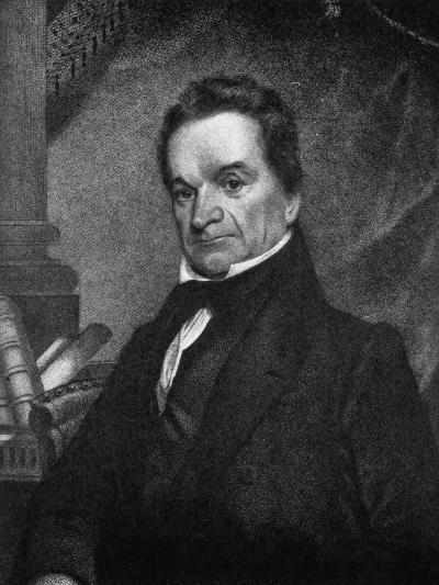 Edward Livingston, American Jurist and Statesman, 19th Century--Giclee Print