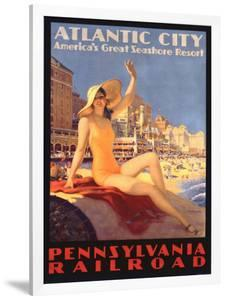 Pennsylvania Railroad, Atlantic City by Edward M. Eggleston