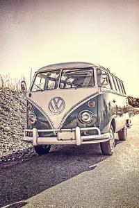 Surfers Vintage VW Bus by Edward M. Fielding