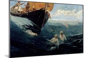 The Mermaid's Rock, 1894 by Edward Matthew Hale