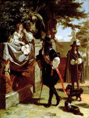 Charles II (1630-85) and Nell Gwynne (1650-87)