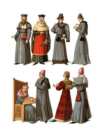 Doctors and Servants, 14th-16th Century